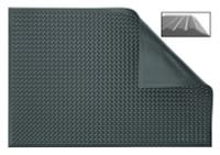 Anti-Fatigue Foamed Polyurethane  Mats, Black by Cleanroom World