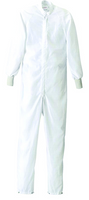 Cleanroom ESD Coverall  (Stock), Snap Legs, Knit Cuffs, White, Maxima ESD, Launderable, XS-5XL By Cleanroom World