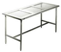 Cleanroom Tables, Eagle Tables, Perforated Top by Cleanroom World