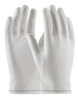 ESD Nylon Gloves, Antistatic, Uncoated Palm, Men's M-XL, 12 Pairs  by Cleanroom World