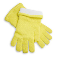 "High Temperature Heat Resistant Gloves, 1000 F, 14""Long, Large-XL by Cleanroom World"