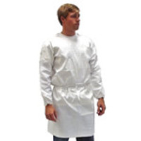 Wrap Around Isolation Gowns, Kappler Provent 7000, Liquid Resistant, Knit Cuffs, S-XL by Cleanroom World