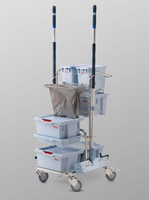 Pre-Prepared Trolley, Color Coding System, Electro-polished, 100% Autoclavable By Cleanroom World