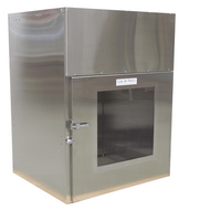 """HEPA Filtered Fully Welded Pass Through, 13""""Wx12""""Hx13""""D by Cleanroom World"""