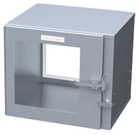 """Cleanroom Pass Throughs, Stainless Steel, 24""""W x 24""""H x 12""""D by Cleanroom World"""