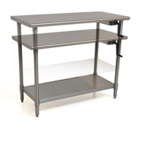 Adjustable Height Tables, In Motion by Cleanroom World