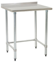 Stainless Steel Prep Table, Eagle, Deluxe 16/304 Heavy Gauge Stainless Steel  by Cleanroom World