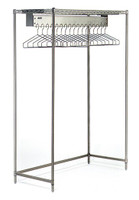 Electropolished Gowning Racks, 17 Hanger Slot By Cleanroom World