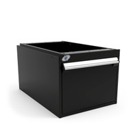 "Light-Duty Drawer Unit, 18""W x 27""D x 15""H, Stainless Steel By Cleanroom World"