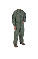 ARC Flash Coveralls; ARC Value 12.0, Nomex, Cleanroom ESD, Sage Green By Cleanroom World