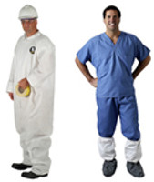 Kappler Provent 7000, Coveralls, Hood & Boots, Elastic Wrist, Liquid Resistant, White, XS-5XL By Cleanroom World