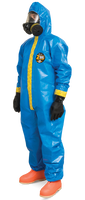 Kappler Zytron 100XP Coveralls with Attached Hood, Serged Seams, XS-4XL by Cleanroom World