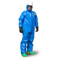 Kappler Zytron 100XP Coveralls, Open Wrists, Serged Seams, XS-4XL by Cleanroom World