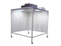 Portable Softwall Cleanrooms, 10'x14' By Cleanroom World