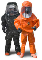 Chemical Suits, Kappler Zytron 500 Coveralls, CE Certified Type 3, Hood, Elastic Wrist/Ankle, XS-4XL, Orange  By Cleanroom World