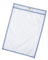 Sheet Protectors, Multiple Sizes, Sewn, ESD Static Safe Clear Vinyl, 100/pack By Cleanroom World