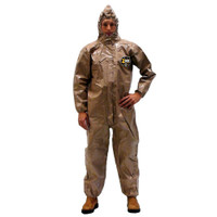 Chemical Suits, Kappler Zytron 300, Broader Holdout, Coverall, Hood/Boots, Elastic Wrist, XS-5XL By Cleanroom World