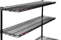 Cantilever Wire Shelves; Chrome, Multiple Sizes, Eagle By Cleanroom World