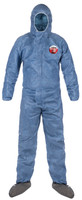 MicroMax VP Coveralls, Zipper Front, Sealable Storm-flap, Attached Hood, Elastic Wrists & Ankles, LG-4XL, 25/Case By Cleanroom World