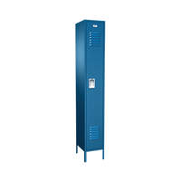 Locker Traditional Starter, Traditional collection, Single Tier, Multiple Sizes and Colors by Cleanroom World