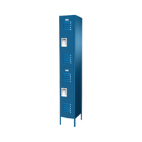 Locker Traditional Starter, Traditional collection, Double Tier, Multiple Sizes and Colors by Cleanroom World