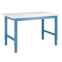 ESD Workbench, Controlled Environments, Laminate Top w/Backer, Multiple Sizes and Colors by Cleanroom World