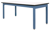 ESD Workbench, ESD Laminate Top, Multiple Sizes and Colors By Cleanroom World