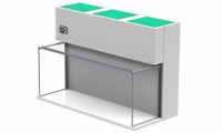 Table Top Horizontal Flow Clean Benches By Cleanroom World