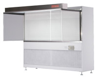 Horizontal Flow Clean Benches; HEPA Filtered, Open Base No Table By Cleanroom World