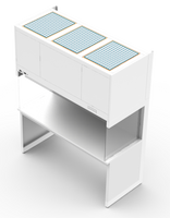 Vertical Flow Clean Benches, Attached Laminate Table Top, Mode WO By Cleanroom World