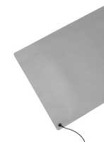 Vinyl Anti-Fatigue Mats; Anti-Static, Gray, Roll By Cleanroom World