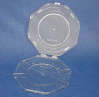 "Single Wafer Shipper, 8"" (200mm), Polycarbonate, 5/pack-20/case By Cleanroom World"