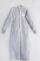 Cleanroom ESD Coverall  (Stock), Snap Legs, Knit Cuffs, Launderable, Color Coded Hang Loop, S-5XL By Cleanroom World