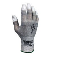 ESD Cut Resistant Gloves, Fingertip Coated, XS-2XL By Cleanroom World