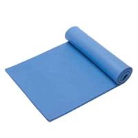 """Three Layer Table Mat, VME Vinyl, Foam Back - 0.375"""" Thickness, Light Blue By Cleanroom World"""
