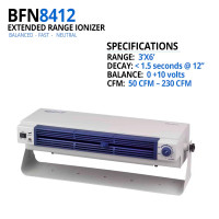 Extended Coverage bench Top AC Ionizer By Cleanroom World