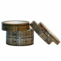 """Guardian Grid Tape, Conductive, ESD Control, 3"""" Core By Cleanroom World"""