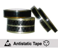 """ESD Cellulose Tape, Printed with ESD Symbol, 3"""" Cores"""