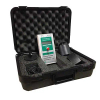 Digital Surface Resistance Test Kit, Built-in Resistivity Probes, Carrying Case By Cleanroom World