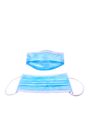 Cleanroom Face Masks, Elastic Ear Loops, ISO Class 6 Compatible, 500/case By Cleanroom World