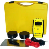 Lightweight Travel Surface Resistance Meter Kit, Built-in Resistivity Probes, Carrying Case