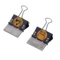 Clamp Probes for Testing ESD Garments, Rugged Stainless Steel
