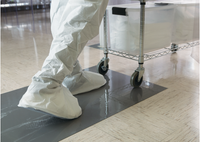 Enviro Track Mats, GMO Free, Adhesive Coating, Recyclable By Cleanroom World