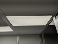 LED Cleanroom Ceiling Light 2'x4' by Cleanroom World