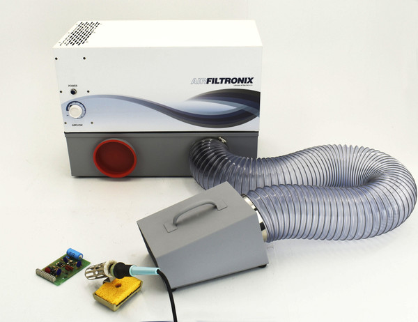 Fume Extractors, Scavenger, Portable Fume Vacuums by Cleanroom World