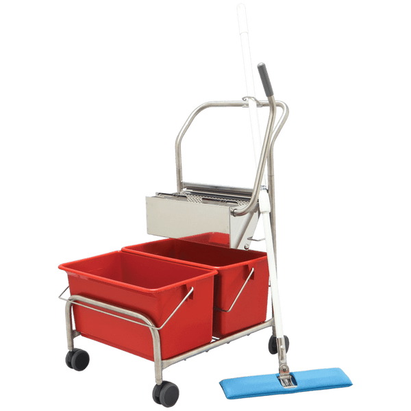 Perfex TruClean Pro Double Bucket System by Cleanroom World