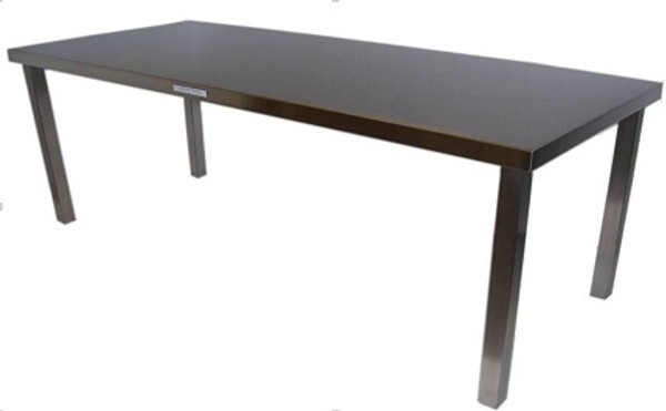 Cleanroom Tables, Stainless Steel Solid Top by Cleanroom World