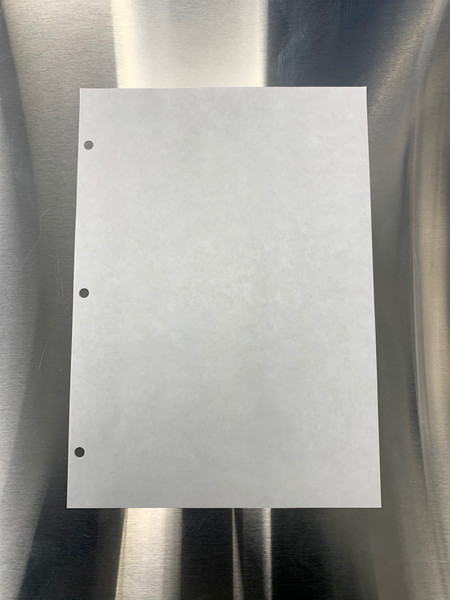 """Cleanroom Paper, 11"""" x 17"""", 3 Hole Punched, White by Cleanroom World"""
