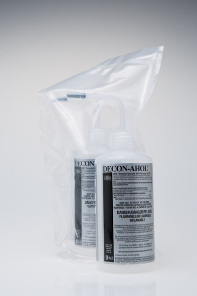 Sterile Alcohol IPA; DECON-AHOL WFI, 70%, 16 oz Squeeze Bottle By Cleanroom World