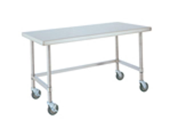 Stainless Steel Tables With Wheels, Metro Tables by Cleanroom World